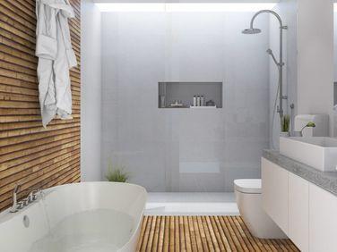 Hout badkamer header