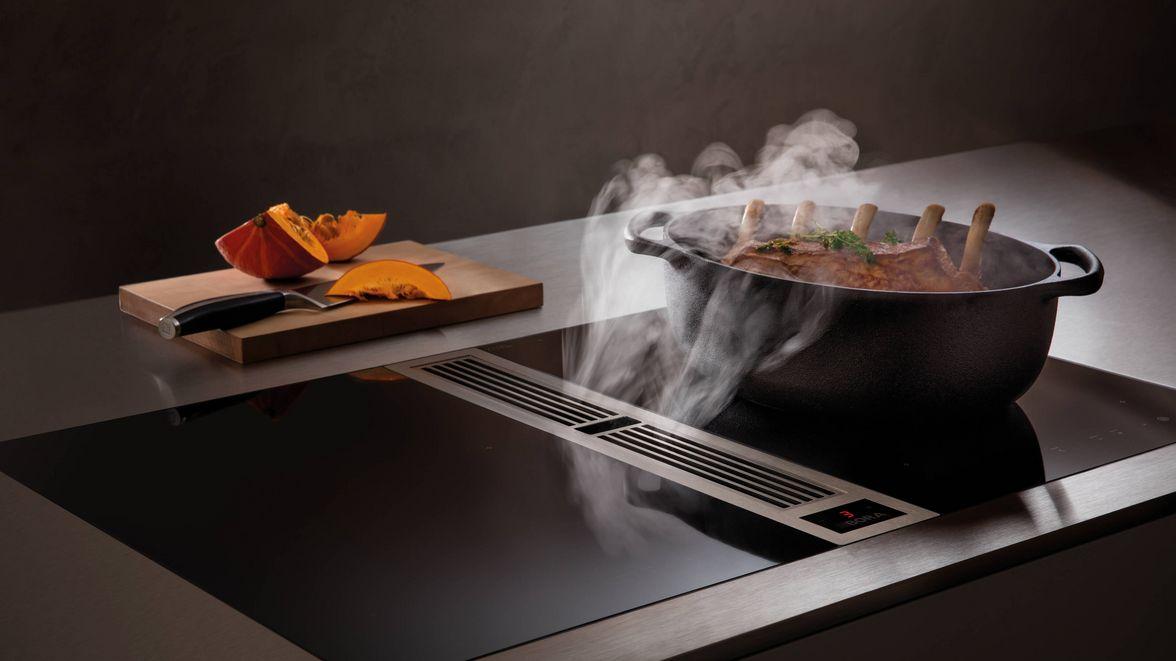 Bora kookplaat met afzuigunit